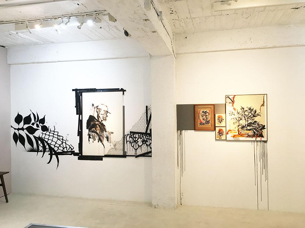 ブラジル日系3世のグラフィティアーティスト・Titi Freakがアメ村のFUKUGAN GALLERYにて展示
