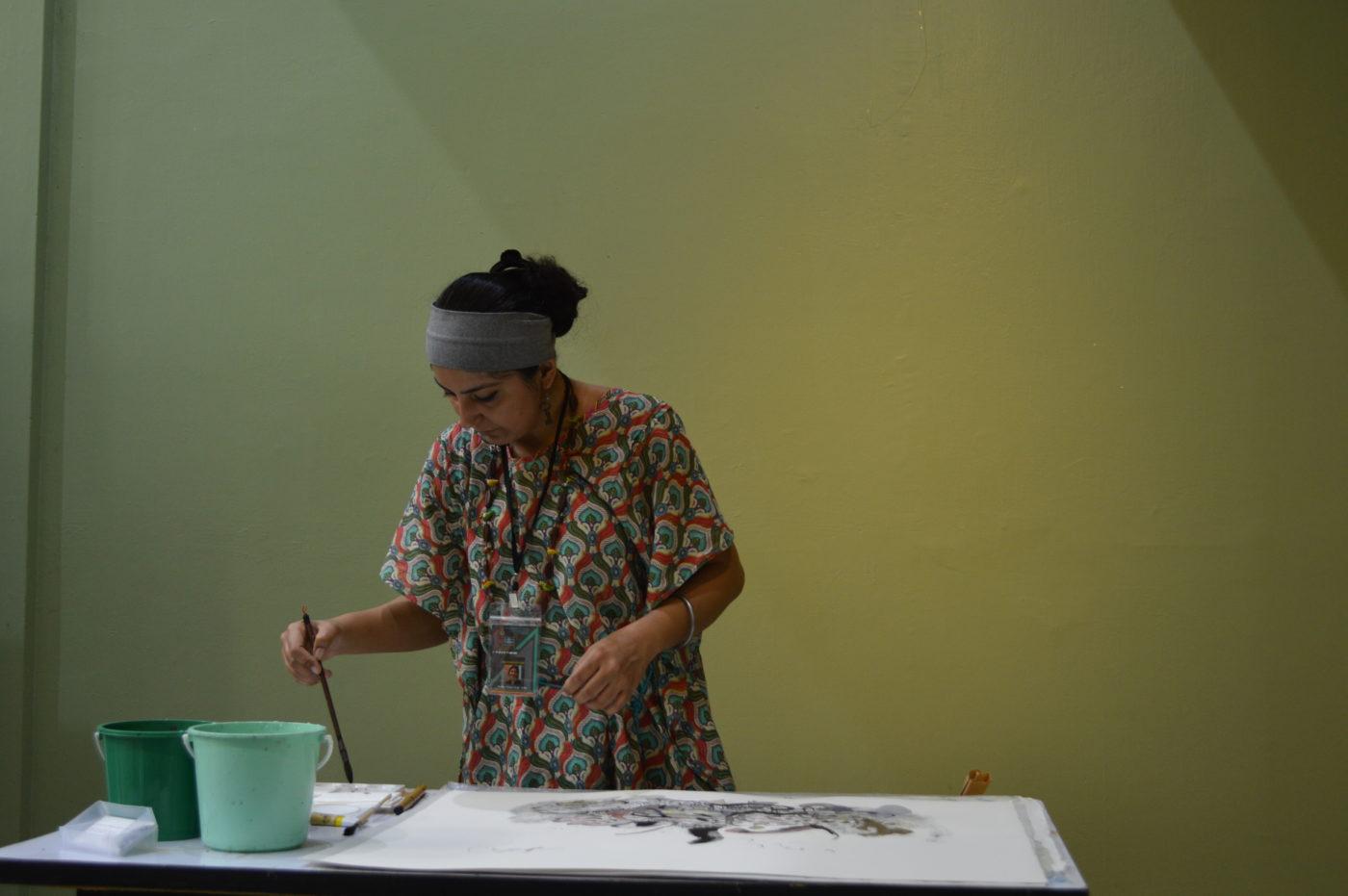 インド人アーティスト/リサーチャーを招いてのトークイベント開催 TRA-TRAVELの「アート・トラベラーvol.4」