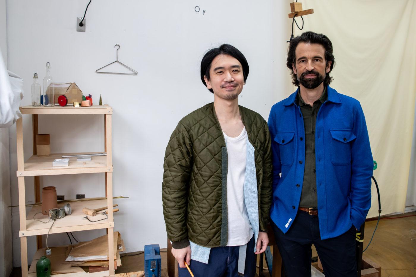 STUDIO VISIT|FREITAG創設者マーカス・フライターグさんと行く、吉行良平さんの仕事の現場 3/3
