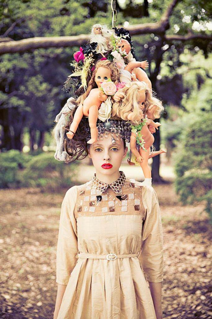 シャンデリア アーティスト、キム・ソンヘの展覧会、此花のThe Blend Innにて