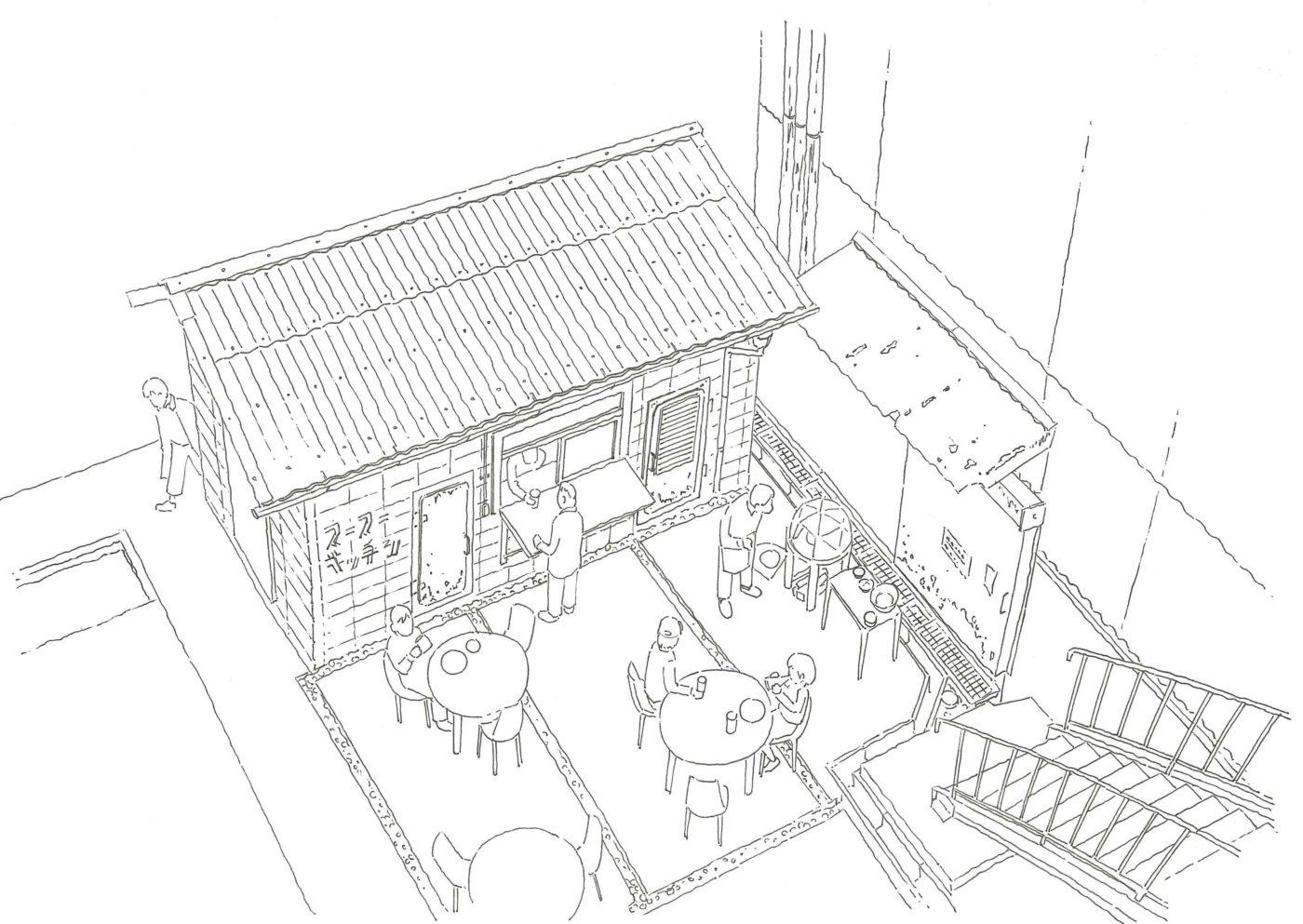アーティストやクリエイターのためのシェアスタジオを含む複合施設「Super Studio Kitakagaya」来春オープン