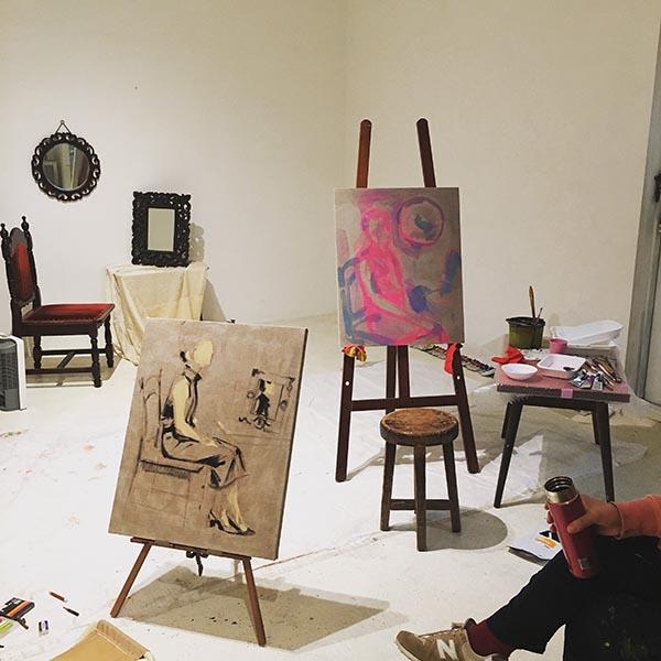 受験デッサンを再考する展覧会「すがく」栗田咲子・田中奈津子、 FUKUGAN GALLERYにて