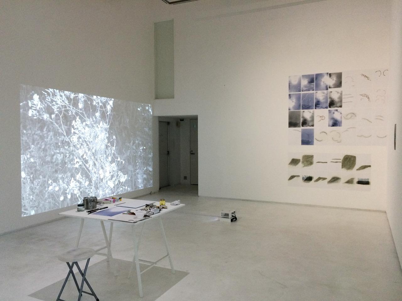 稲垣元則の個展「Atlas」がGallery Nomartにて開催。映像やドローイングなど新旧作を等価に並置し、制作・入れ替えを行いながら有機的に変化する展覧会を模索。