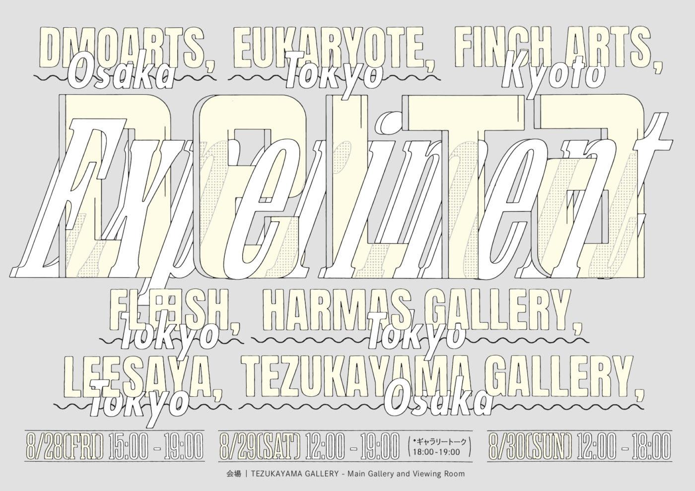 新たなアートフェア「DELTA Experiment」がスタート。東京、大阪、京都の7ギャラリーが出展。