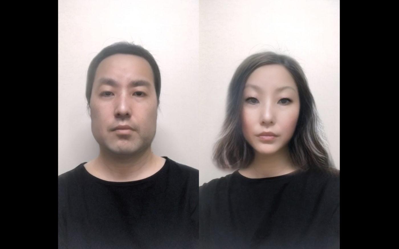 コロナ禍で制作されたパフォーマンス的要素の高い映像作品を展示。稲垣智子 個展「Diary 2020」、The Third Gallery Ayaにて。