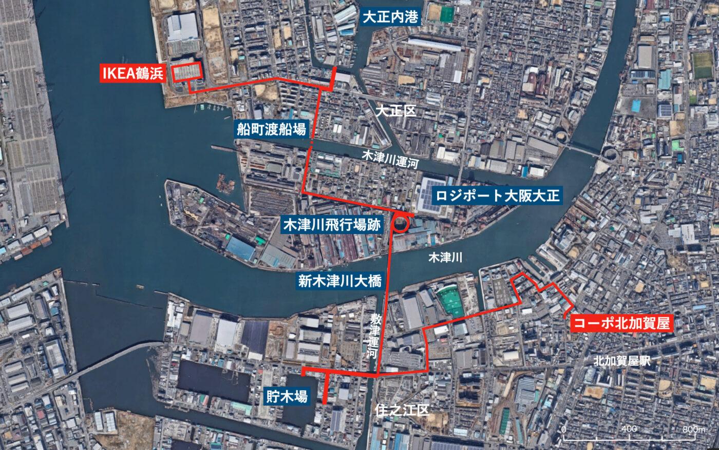REPORT:大阪のロジスティクスを歩く