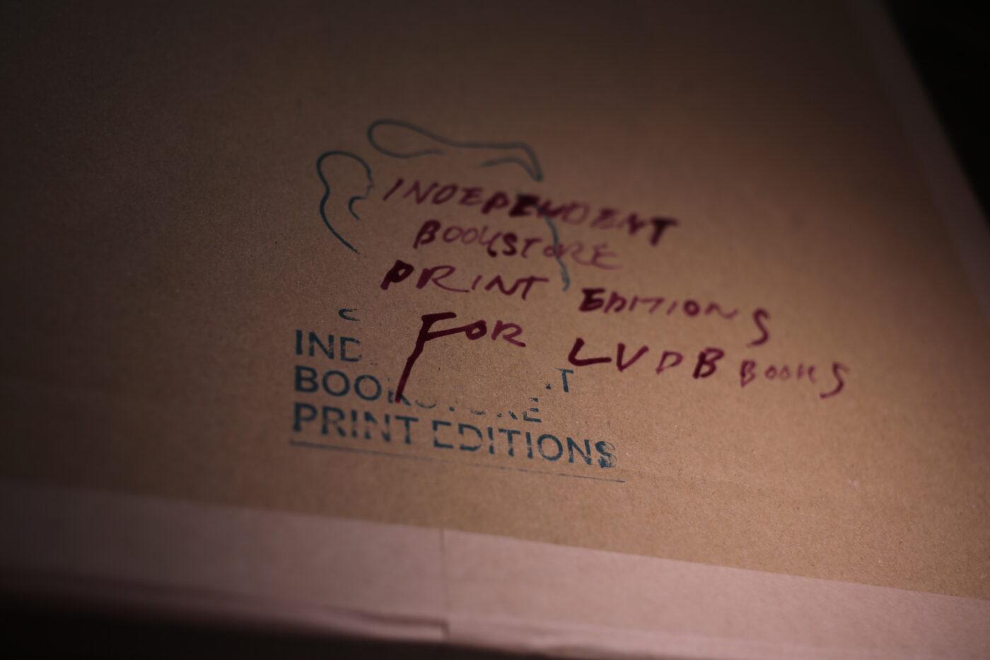 写真家・志賀理江子がインディペンデントブックストアとの共生を掲げるプロジェクト「Independent Bookstore Print Editions」がLVDB BOOKSにて展開中。