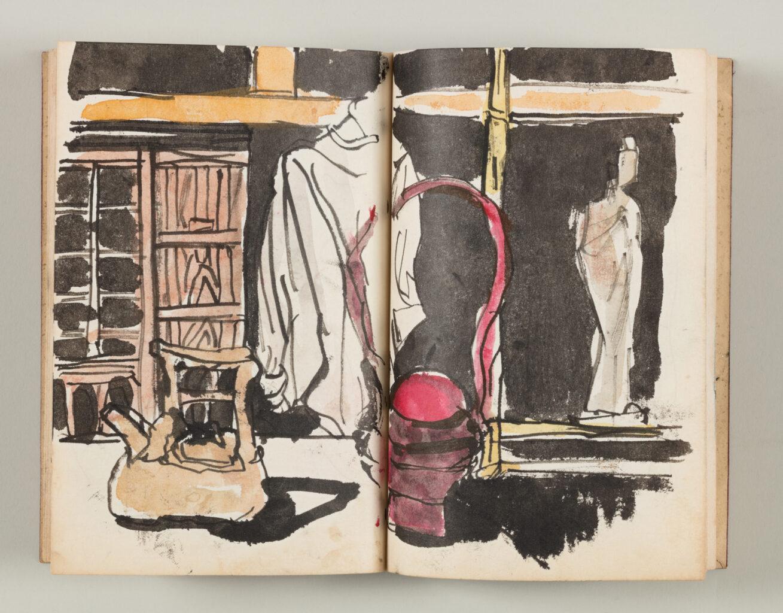 enocoにて、大阪府20世紀美術コレクション展 「彼我の絵鑑」開催。大阪を拠点に活動する画家の野原万里絵を招いて、収蔵作品の活用と展示の可能性を探る。